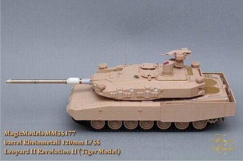 Magic Models #MM35177 Metal  Barrel 1:35 Rheinmetall 120mm L//55 Leopard 2