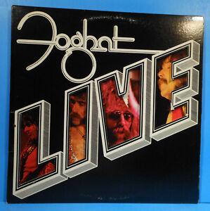 FOGHAT-LIVE-VINYL-LP-1977-ORIGINAL-PRESS-034-SLOW-RIDE-034-GREAT-CONDITION-VG-VG-B