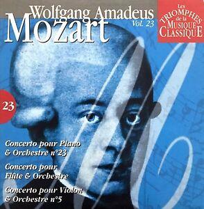 Compilation-Les-Triomphes-De-La-Musique-Classique-CD-Mozart-Vol-23