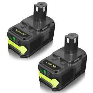 2X-5-0AH-18V-Li-ion-Battery-for-Ryobi-One-P108-P105-P107-P109-P102-RB18L50-P780