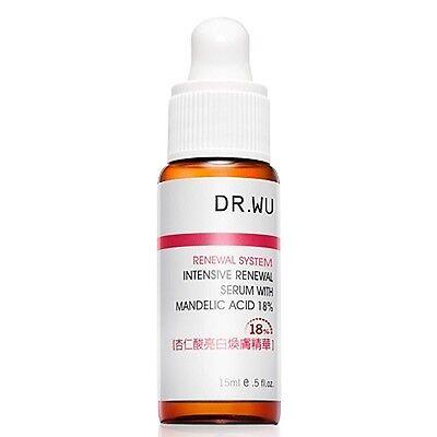 Dr.Wu Intensive Renewal Serum with Mandelic Acid 18% 15ml New In Box - R