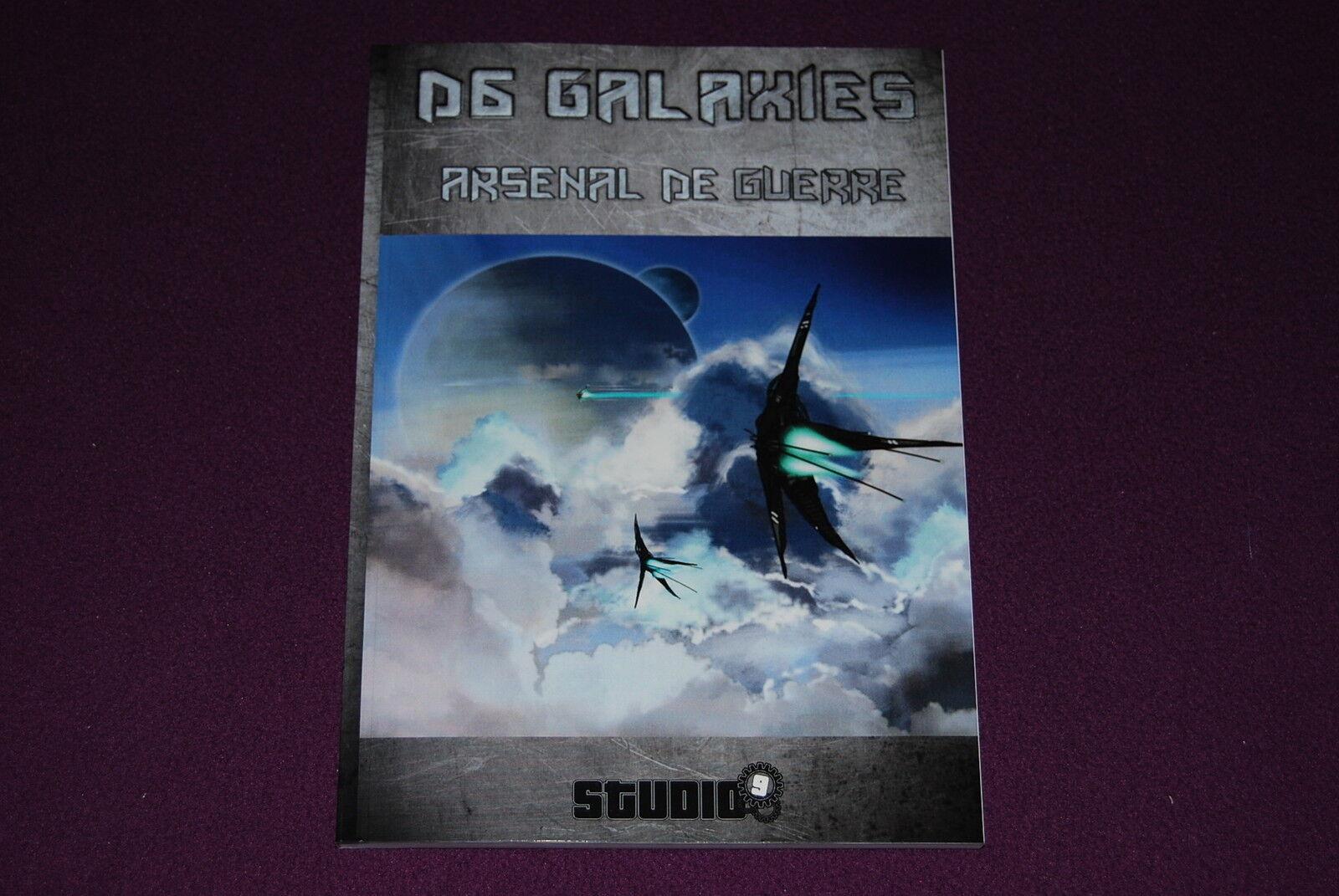 D6 SYSTEM GALAXIES JDR Jeu de Role - Arsenal de Guerre