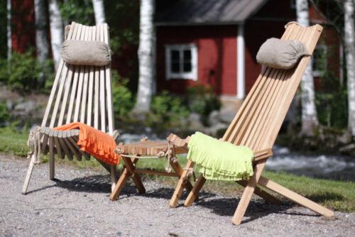 Beistelltisch Gartenhocker Nordic Classic Lärche