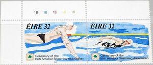 Ireland-1993-829-30-100-Ann-Amateur-Swimming-Assc-MNH