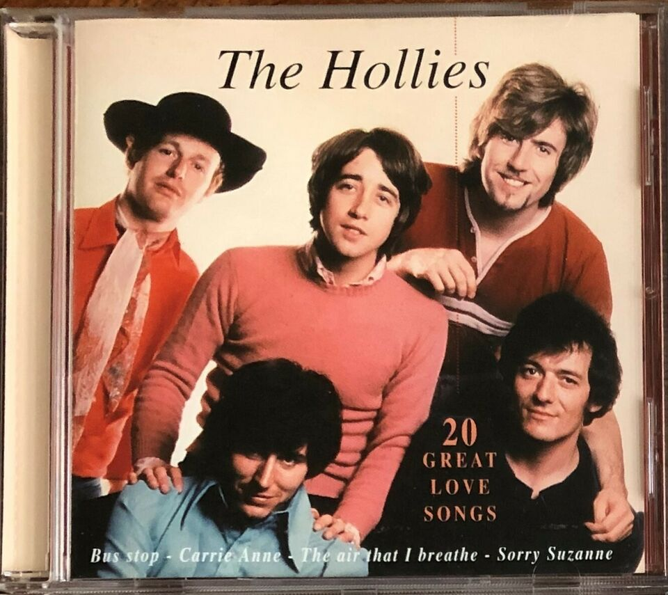 The Hollies: 20 Great Love Songs, pop