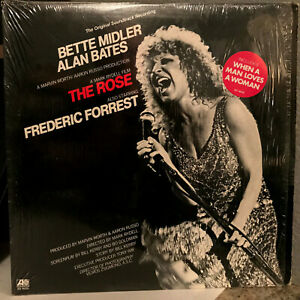"THE ROSE Movie Soundtrack - Bette Midler - 12"" Vinyl Record LP - EX"