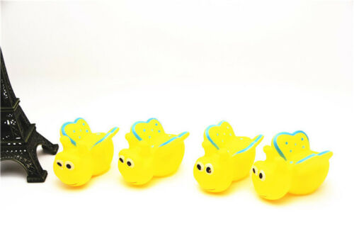 Cute 13Pcs Mixed Animals Colorful Soft Rubber Float Squeeze Baby Wash Bath Toy