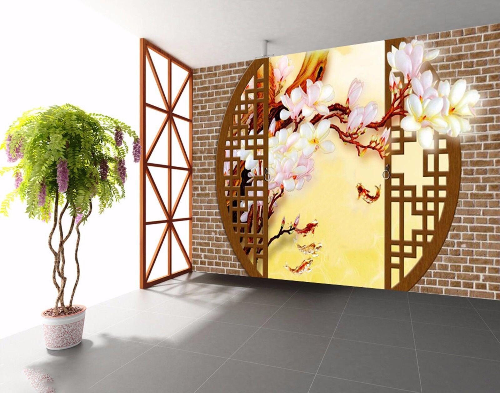 3D Woodruff Blaumen 725 Wandbild Fototapete Bild Tapete Familie Kinder DE Lemon  | Sale Online  | Shop  | Großer Verkauf