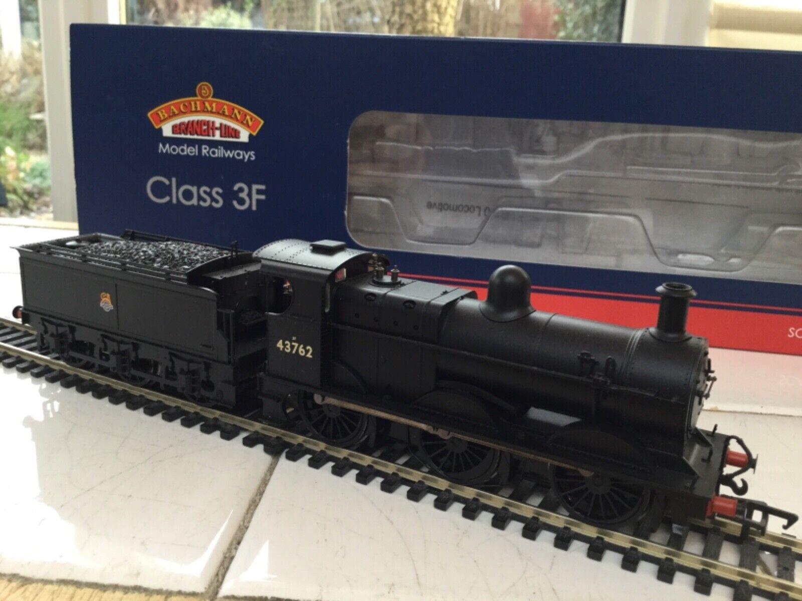 Bachmann 31 -626 BR 0 -6 -0 klass 3F Tender Locomotive 43762 dc monterad