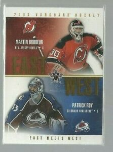 2002-03-Vanguard-East-Meets-West-9-Martin-Brodeur-Patrick-Roy-ref-86306