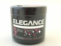 Sada Pack Elegance Triple Action Hair Styling Gel Extra Strong Hold Pink 500ml
