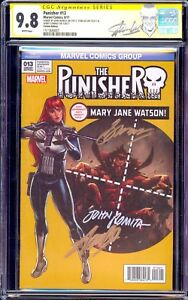 Punisher-13-CGC-9-8-SS-Amazing-Spiderman-129-Homage-Sign-Stan-Lee-Romita-Conway