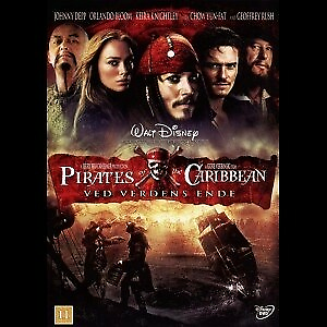Pirates Of The Caribbean 3: Ved Verdens Ende, DVD, eventyr,…