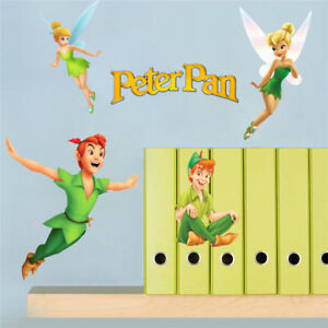 Peter Pan Wall Art.Details About Peter Pan Wall Decals 3d Vinyl Stickers Kids Room Bedroom Nursery Decor Art Foto