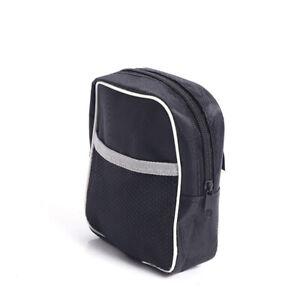 1xBicycle Front Bag for Bicycle Handlebar Bike Road bike Basket Zippered Bag