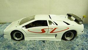 Maisto Red Wht Lamborghini Diablo Sv 1 18 Scale Diecast Model Car