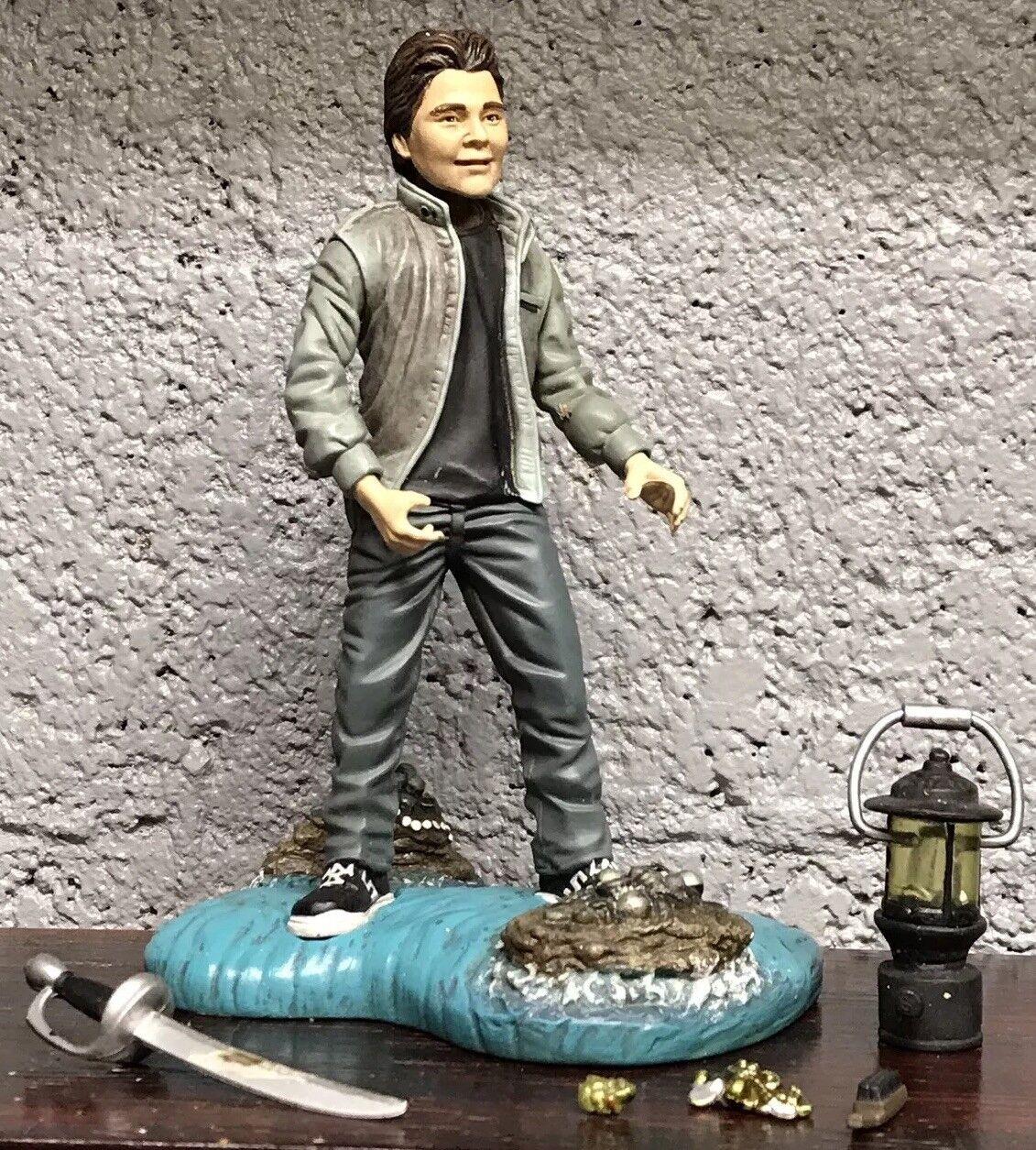 "Goonies Mouth Corey Feldman 6"" Figure Mezco 100% Complete Lantern Hold Sword HTF"