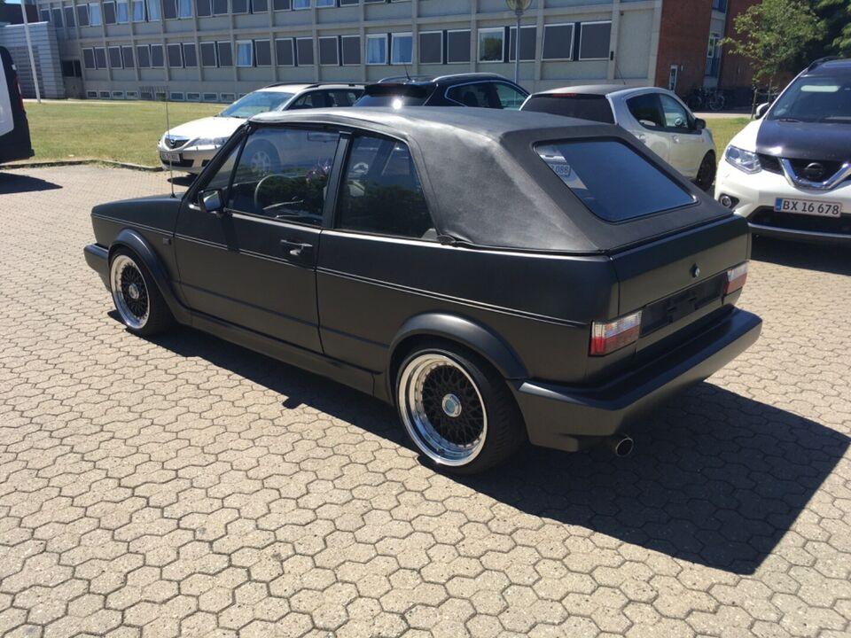 VW Golf I 1,8 Cabriolet Benzin modelår 1992 km 191000