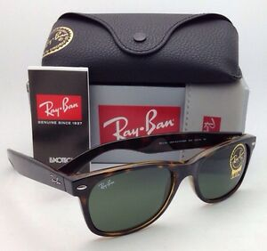 fde6c41de7 Ray-Ban Sunglasses RB 2132 902 58-18 NEW WAYFARER Tortoise with G15 ...