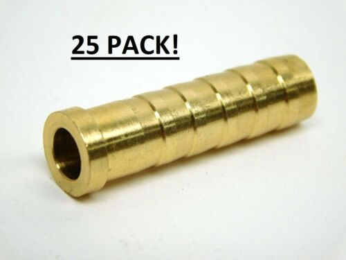 25  Arrow 110 gr brass Inserts for carbon  Arrows  Horton Ten Point easton .300