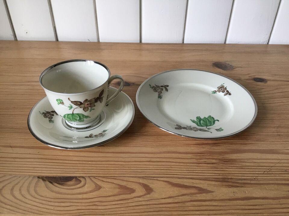 Porcelæn, Kaffestel , Kjøbenhavns porcelains maleri