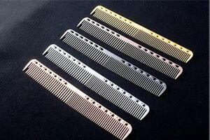 Aluminum-Metal-Cutting-Comb-Hair-Hairdressing-Barbers-Salon-Combs-Tool-New-Trend