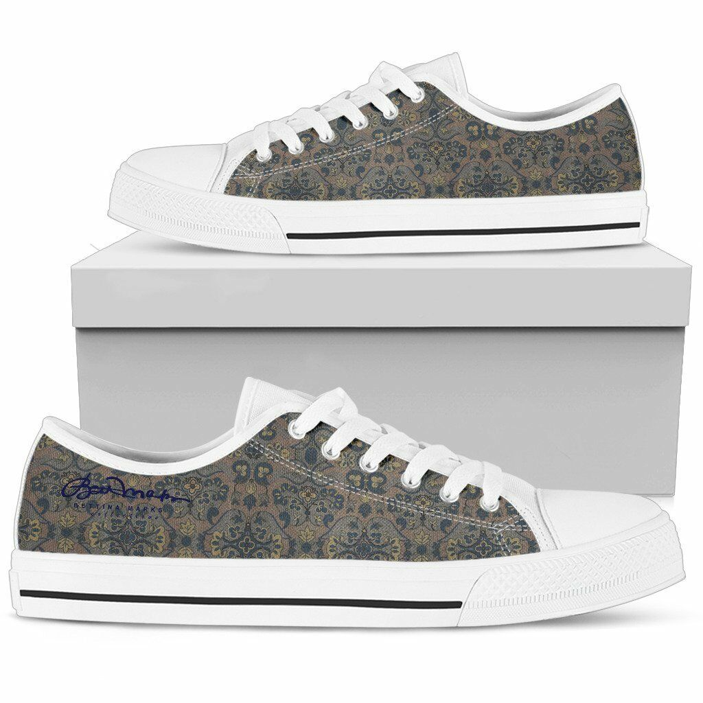 Not Quite Paisley Low Top Sneakers