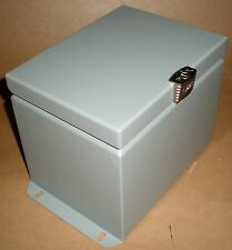 Electrical Enclosure Junction Box Steel Gray Exm Eurobex 5412 Esch080606 8x6x6