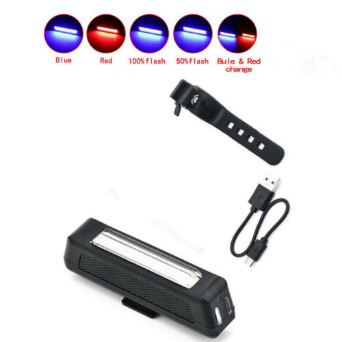 Usb Rechargeable Led Bike Bicycle Cycling Front Rear Tail Light Headlight Lamp、