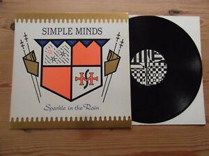 SIMPLE MINDS  SPARKLE IN THE RAIN  034SUPERB AUDIO034 EX VINYL LP 1983 - Ringwood, United Kingdom - SIMPLE MINDS  SPARKLE IN THE RAIN  034SUPERB AUDIO034 EX VINYL LP 1983 - Ringwood, United Kingdom