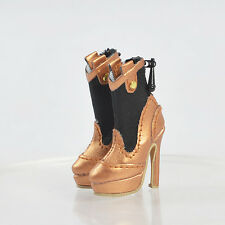 Doll Brass Shoes for Fashion Royalty Tropicalia Color Infusion Jem Holograms