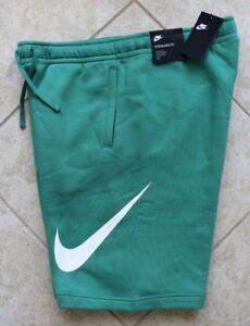 Color Logo Xl Nike Xxl Nwt S Rare Men's L Fleece Green Shorts M f76Uwq