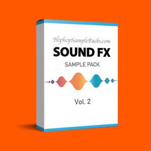 Details about Sound FX SAMPLE PACK Vol  2 Hip Hop Trap R&B WAV FL Studio,  Ableton ⭐️⭐️⭐️⭐️⭐️