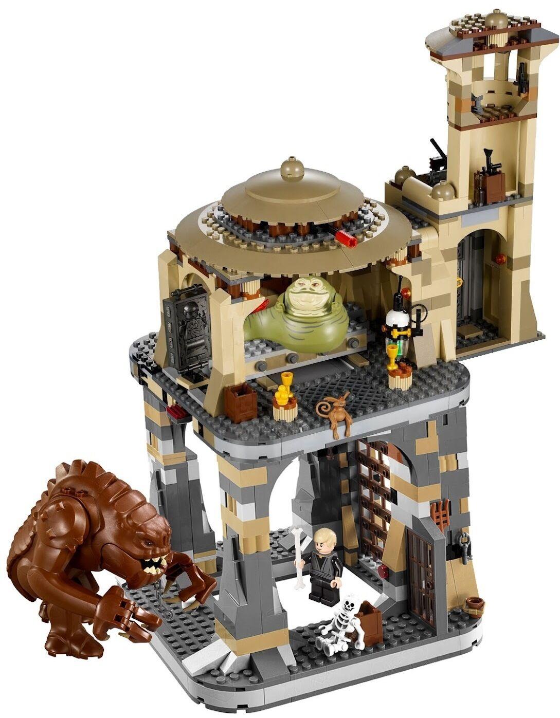 RETIrosso - BRAND NEW Lego Star Wars Jabba's Palace  9516  & Rancor Pit  75005
