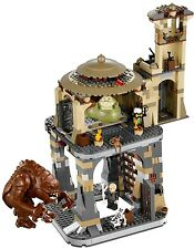 RETIRED - BRAND NEW Lego Star Wars Jabba's Palace (9516) & Rancor Pit (75005)