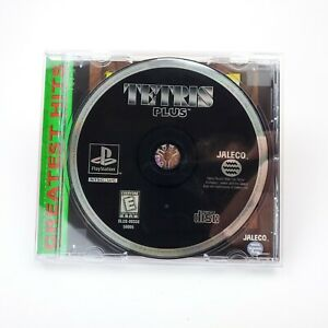 Tetris-Plus-Sony-PlayStation-1-1996-PS1-Game-Missing-Manual-Artwork-TESTED