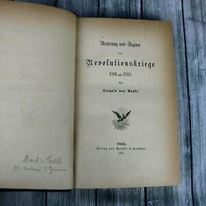 Ursprung-Und-Beginn-Der-Revolutionskriege-1791-1792-by-Leopold-Von-Ranke-1875