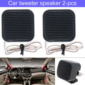 1 Pair 500W 12V Car Square Audio Music Stereo Tweeter  Sound Speaker System