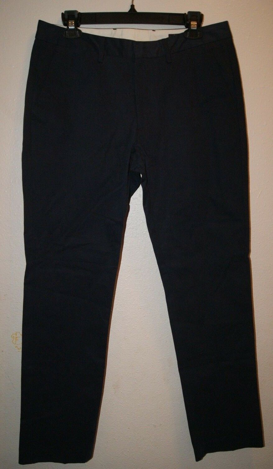 BONOBOS PREMIUM ITALIAN FABRIC PANTS - Faded Navy - SLIM Straight - 32 32 - NEW