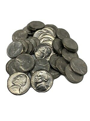 40 Coin Roll 1965 Jefferson Nickel