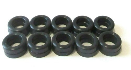 SLOT CAR HO SCALE 10 PAIR SILICONE FRONT TIRES FITS AFX MAGNA TRACTION SPECIALTY