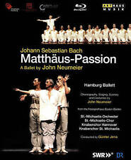 Matthaus Passion (Hamburg Ballet) (Blu-ray Disc, 2016, 2-Disc Set)