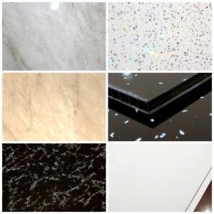 Details zu Dusche Platten 1000mm breit PVC Nass Wandpaneele 1m x 2.6m  Badezimmer cladding
