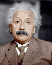 Albert Einstein #8 Photo 8x10  COLORIZED