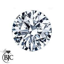 BJC® 0.15ct Loose Round Brilliant Cut Natural Diamond K I2 3.21mm Diameter