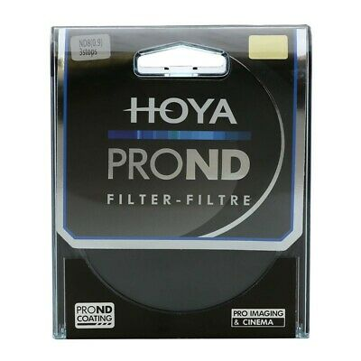 Hoya pro ND 8 filtro de densidad neutro gris filtro multi coating 49mm 82mm