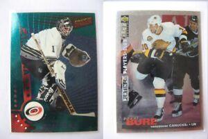 1995-96 Collector's Choice #045 Bure Pavel PLATINUM player's club  canucks