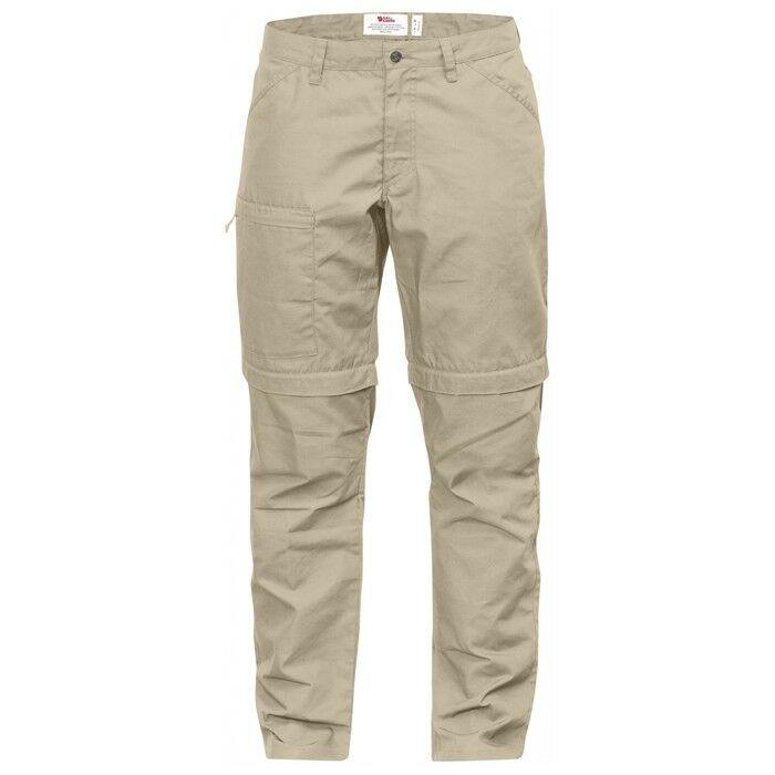 Fjäll Räven High Coast Trousers Zip-off W Limestone