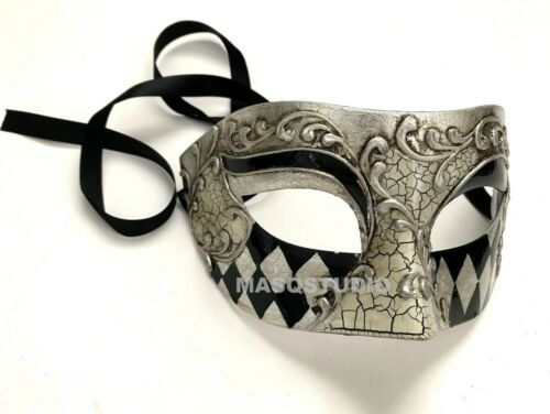Couple Feather Veil BS Harlequins Masquerade mask Pair Birthday Costume Party
