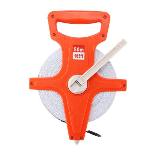 Kurbel Messen Rollmeter Endhaken Neu 30m 50m 100m Rollbandmaß Bandmaß Maßband m